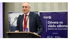 Predseda SAK T. Borec na konferencii k téme Dôvera vo vládu zákona
